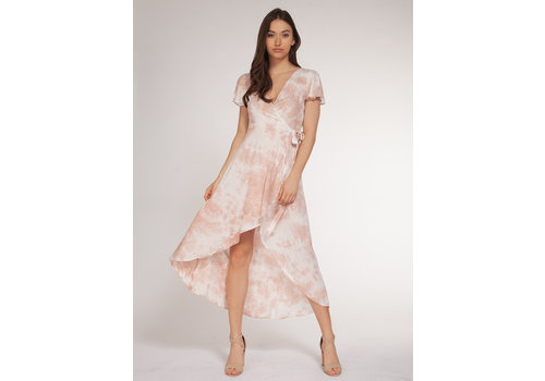 Dex Floral Ruffle Dress