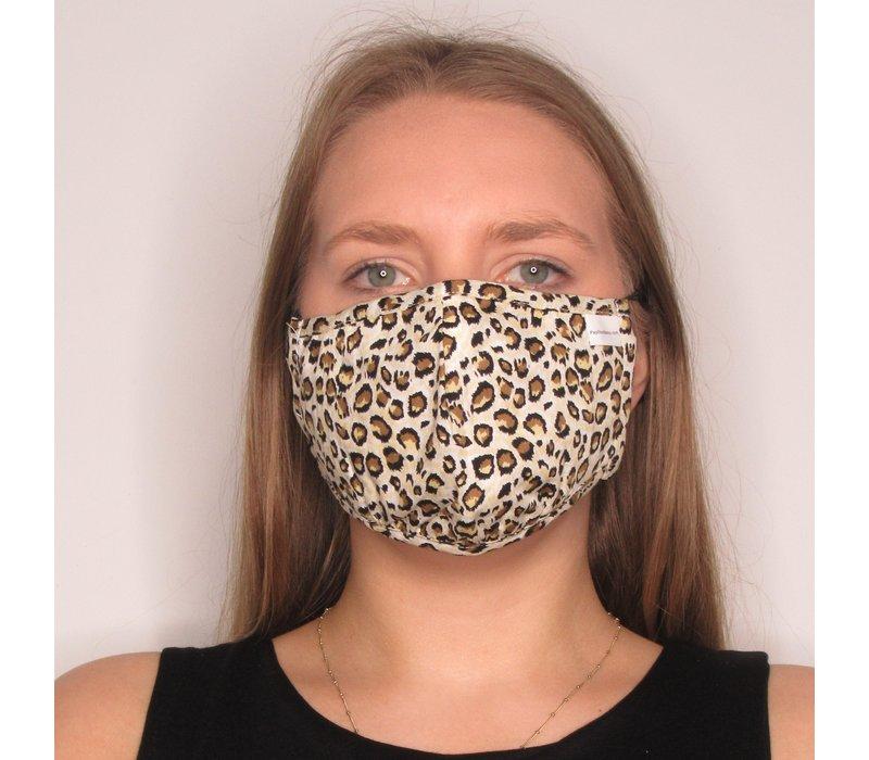 Leopard Adjustable Cotton Face Mask