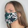 Papillon Floral Double Layer Cotton Face Mask