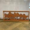 Kaemingk Horse Wall Decor Rust 100x40cm