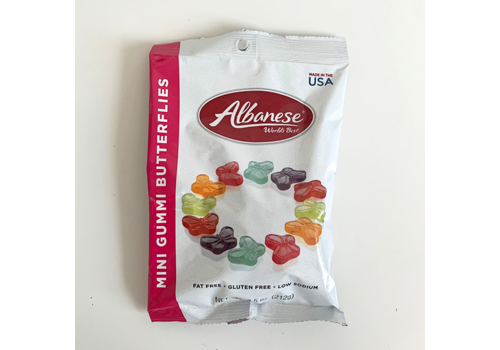 Albanese Confectionery Group Gummi Butterflies 7.5oz