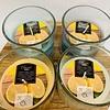 Kaemingk Citron Wax Candle In Glass