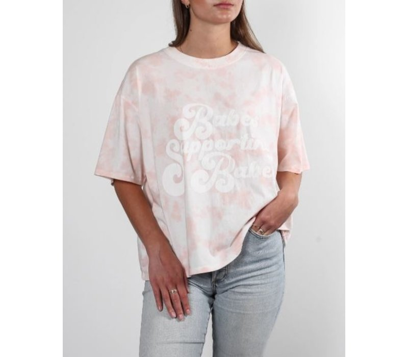 Babes Supporting Babes Vintage Boxy Tee