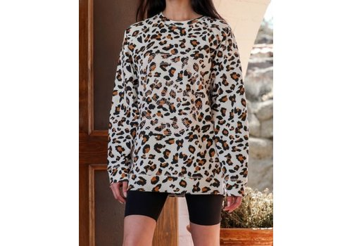 Brunette The Label Uplift All Babes Big Sister White Leopard