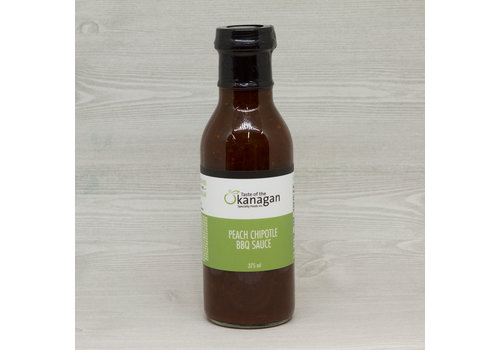 Taste Of The Okanagan Peach Chipotle BBQ Sauce 375ml