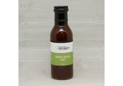 Taste Of The Okanagan Vintner's Grilling Sauce 375ml