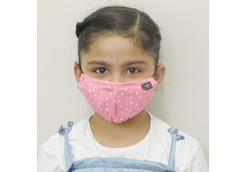 Papillon Kids Star Cotton Face Mask