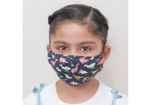 Papillon Kids Dinosaur Cotton Face Mask