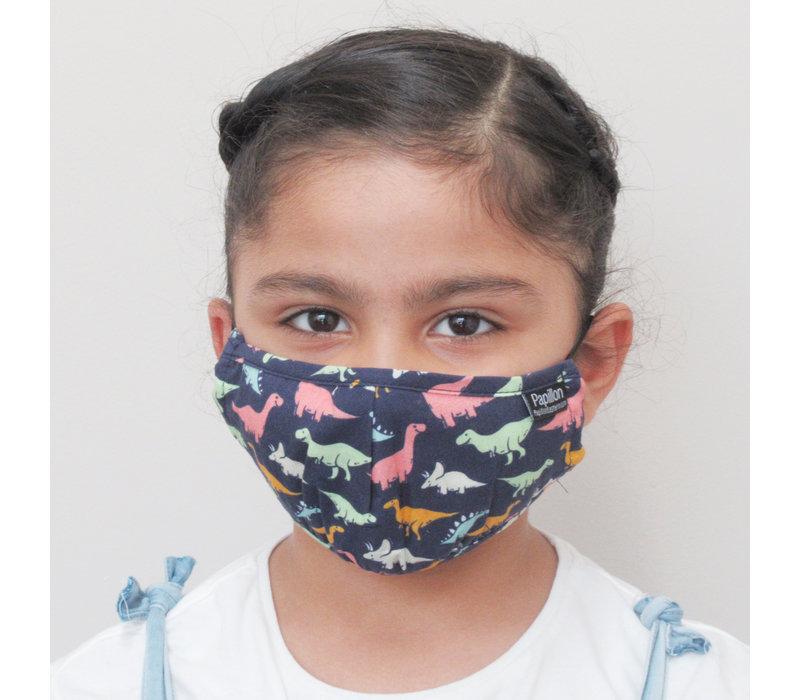 Kids Dinosaur Cotton Face Mask