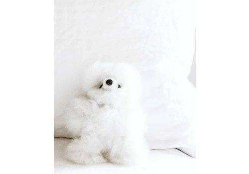 "Pokoloko Stuffed Animal Bear White 10"""