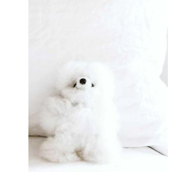 "Stuffed Animal Bear White 10"""
