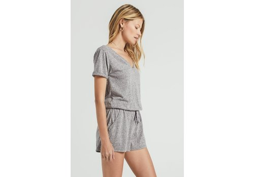 Z Supply Pia Tri Blend Romper