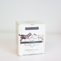 Pure Goat Milk Whipped Body Cream