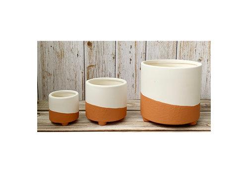 Kay Ceramic Vase With Legs