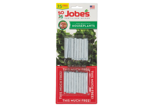Jobes Houseplant Fertilizer Spike 13-4-5 30pk
