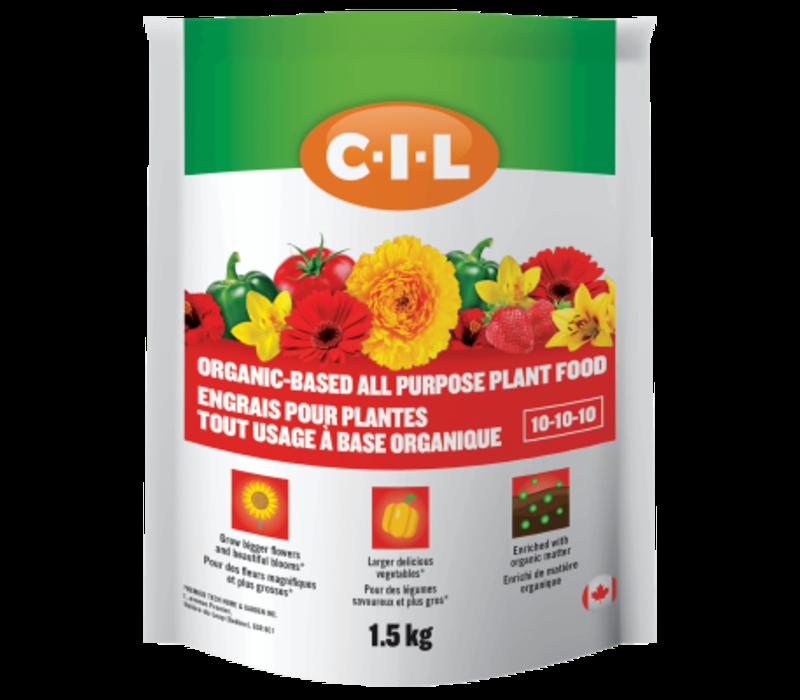 Organic All Purpose Plant Food 10-10-10 5kg