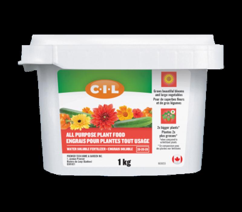 All Purpose Fertilizer 20-20-20 1kg