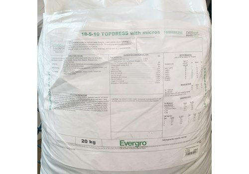Evergro Topdress Fertilizer 18-5-10 20kg