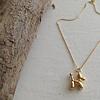 Pika & Bear Koons Balloon Dog Necklace Gold