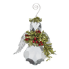 Angel Mistletoe Ornament