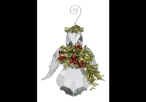Angel Mistletoe Ornament
