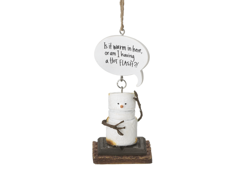 Ganz S'more Warm Flash Ornament