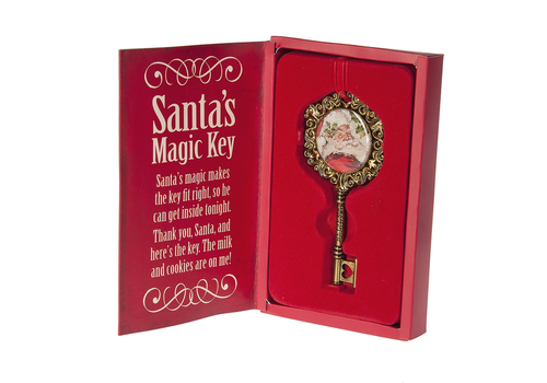 Ganz Santa's Magic Key Ornament