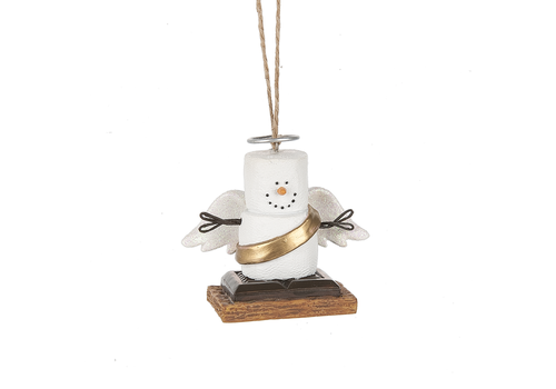 Ganz S'mores Angel Ornament
