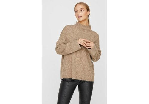 Vero Moda Plaza LS High Neck Blouse