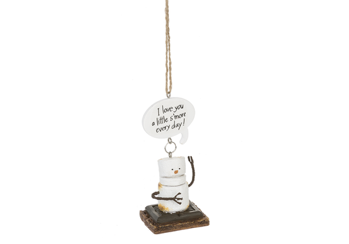 Ganz I Love You A Little S'more Every Day Ornament