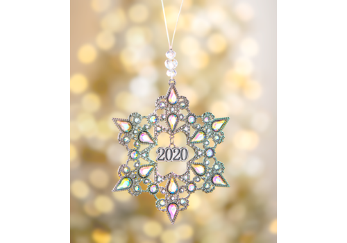 Ganz 2020 Snowflake Ornament in Box