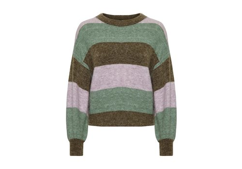 Soaked in Luxury Angel Stripe Pullover