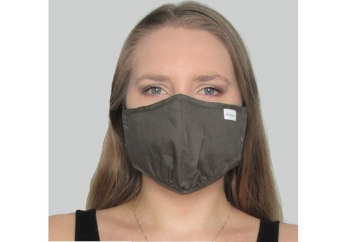Papillon Solid Double Layer Cotton Mask