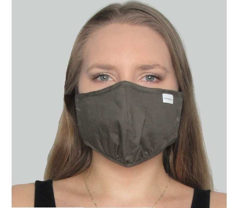 Solid Double Layer Cotton Mask