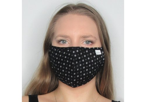 Papillon Geo Double Layer Cotton Face Mask