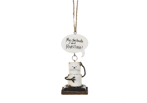 Ganz My Chestnuts Are Roasting Toasted S'mores Ornament
