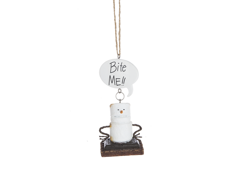 Ganz Bite Me Toasted S'more Ornament