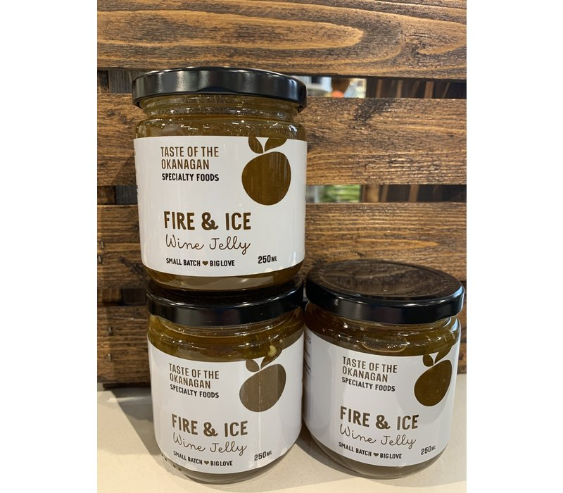 Fire and Ice Wine Jelly 250ml