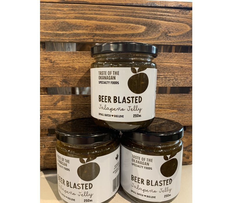 Beer Blasted Jalapeno Jelly 250ml