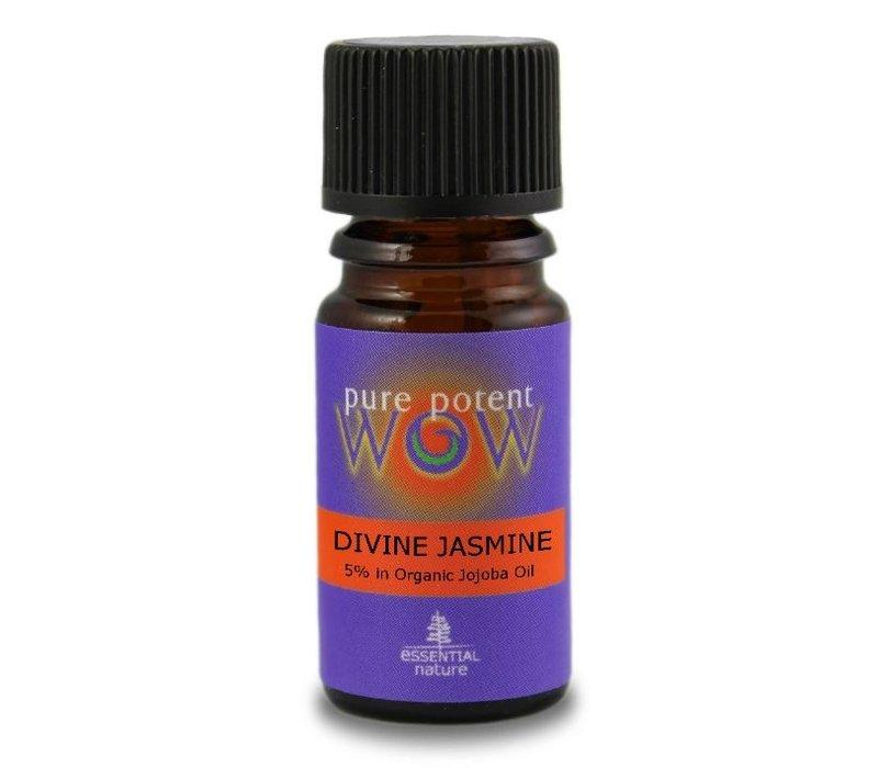 Jasmine 5% Blended In Organic Jojoba 5ml