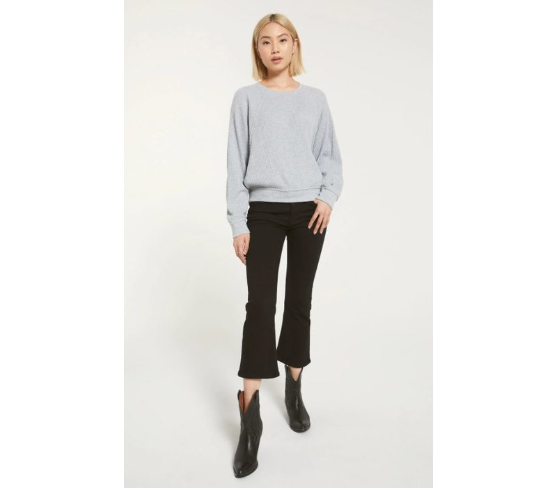 Claire Waffle Long Sleeve