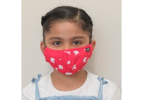 Papillon Kids Canada Day Cotton Face Mask