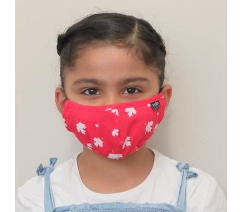 Kids Canada Day Cotton Face Mask