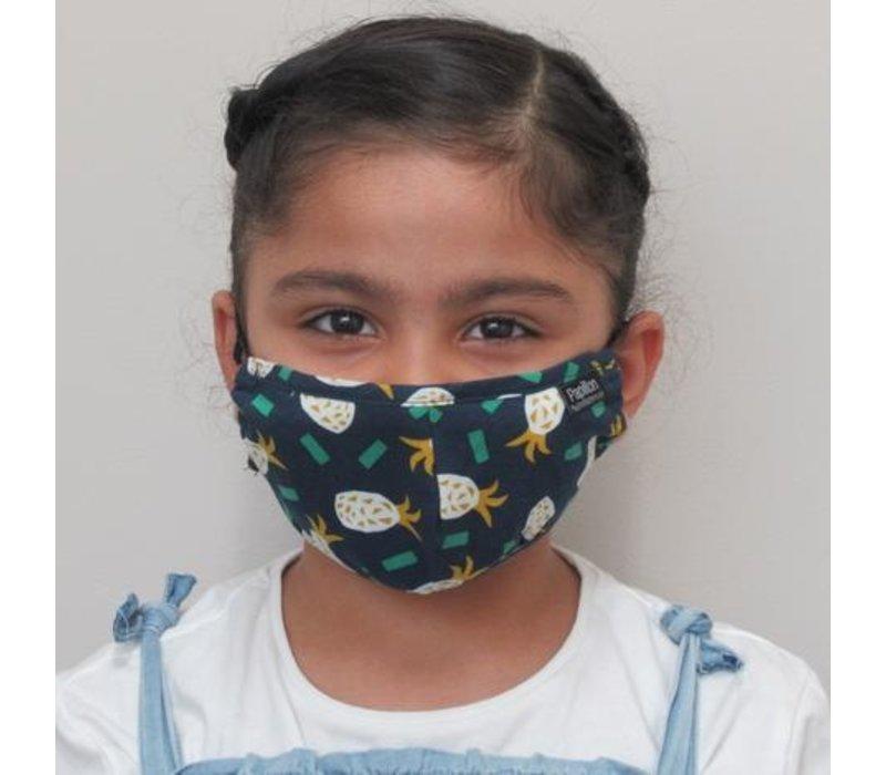 Kids Pineapple Cotton Face Mask