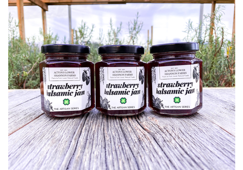 Acton's Lower Shannon Farms Strawberry Balsamic Jam