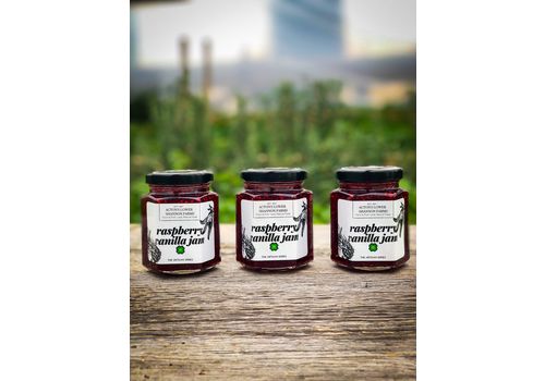 Acton's Lower Shannon Farms Raspberry Vanilla Jam