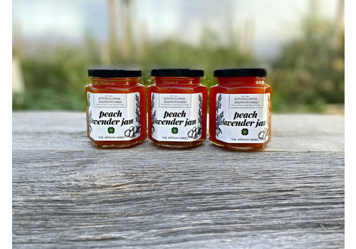 Acton's Lower Shannon Farms Peach Lavender Jam