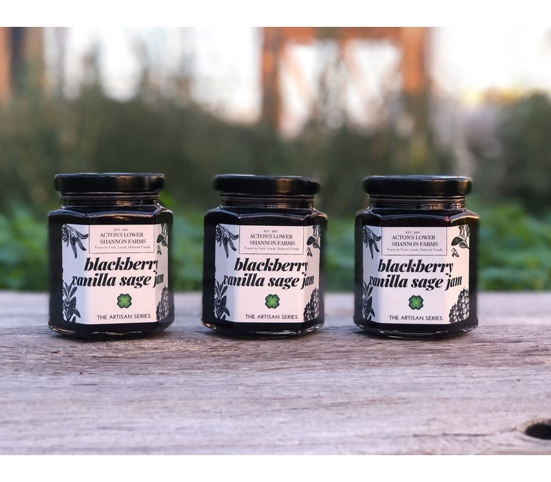Blackberry Vanilla Sage Jam