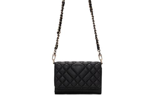 Co-Lab Quilt Wallet Black