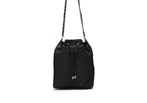 Co-Lab Quilt Bucket Bag Black